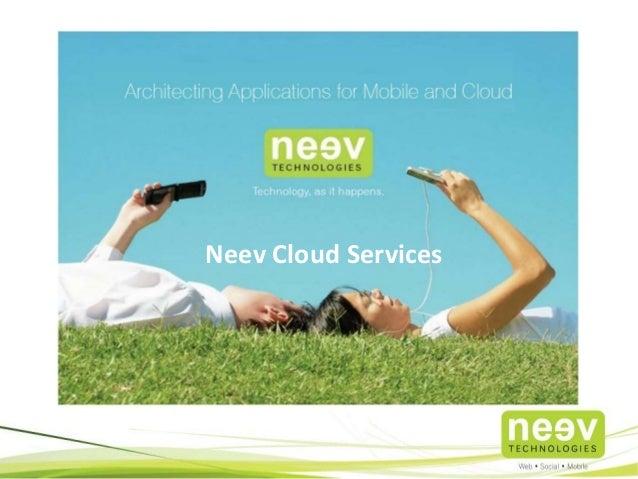 Neev Cloud Services