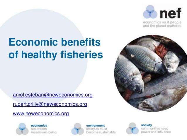 Economic benefitsof healthy fisheriesaniol.esteban@neweconomics.orgrupert.crilly@neweconomics.orgwww.neweconomics.org