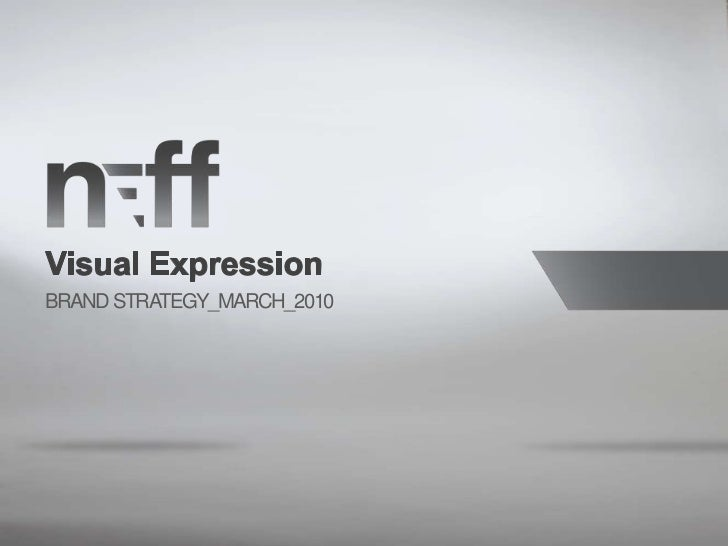 Visual Expression by Neff