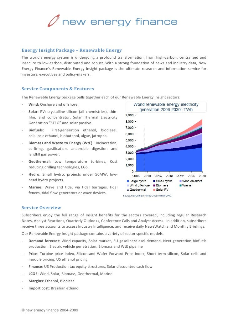 Energy Insight Package – Renewable Energy The world's energy system is undergoing a profound transformation: from high-car...
