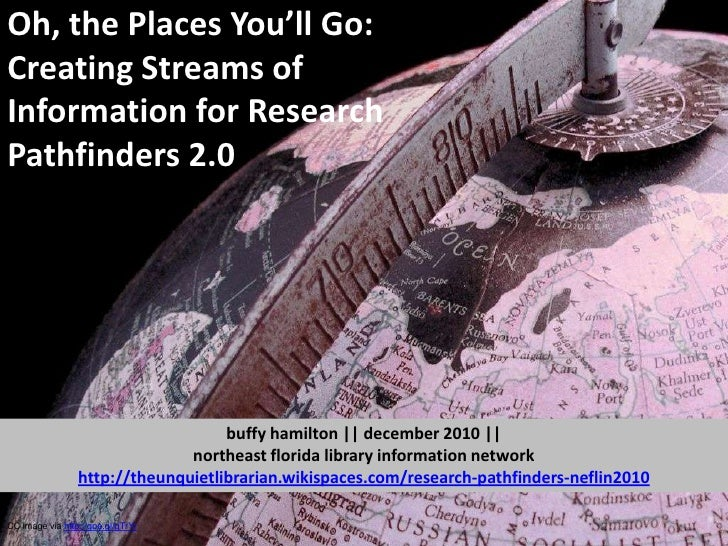 Oh, The Places You'll Go: Creating Streams of Information for Research Pathfinders 2.0