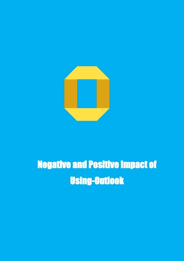 Negative and-positive-impact-of-using-outlook
