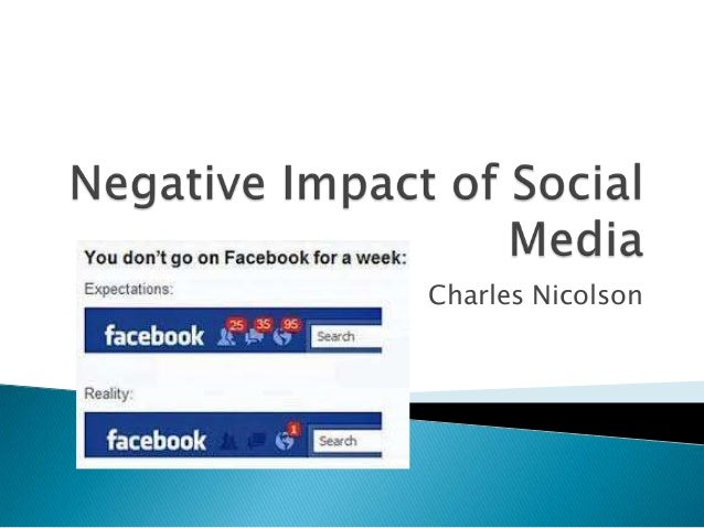 essays on negative effects of social media