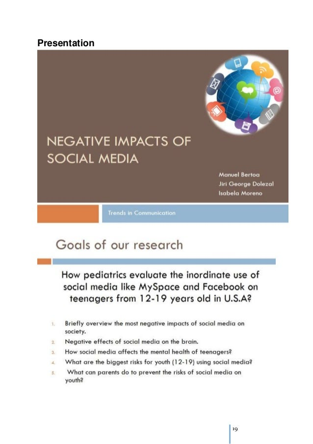 the influence of internet on teenager When the behavior of children or teens takes an unexpected turn, parents and   although many adults assume that the internet's inevitable influence on teen.