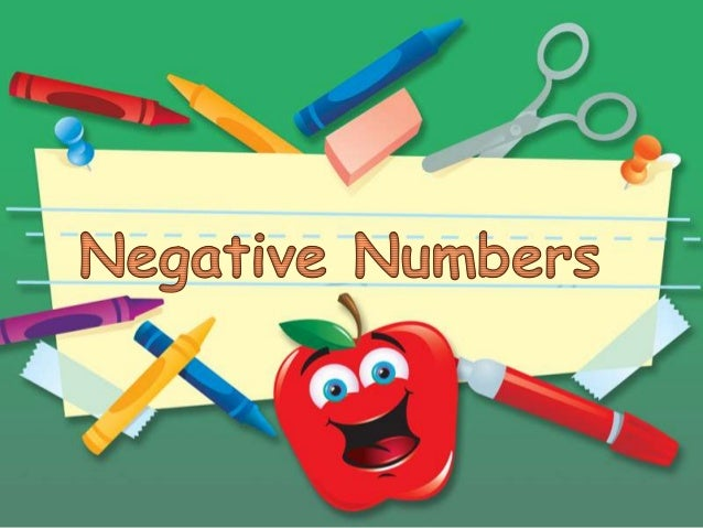 Negative numbers(final)