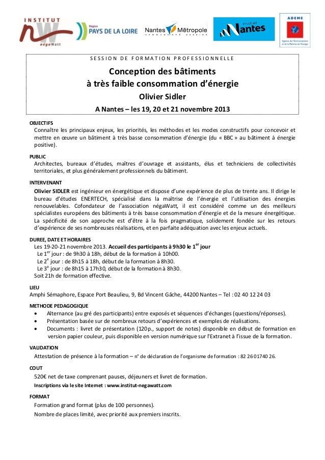 Negawatt programme formation-sidler_nov20131