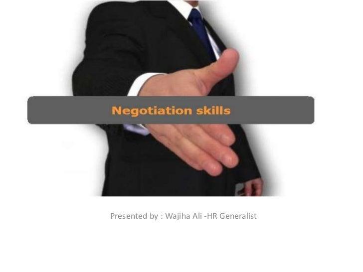 Presented by : Wajiha Ali -HR Generalist<br />