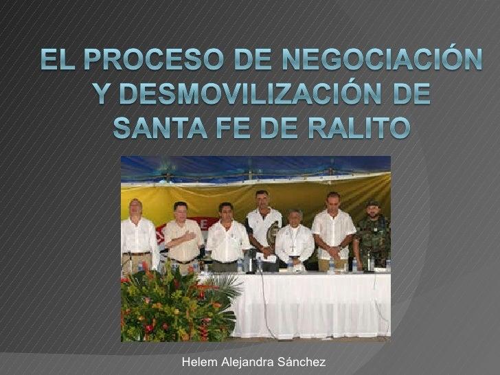 LOS HECHOS Helem Alejandra Sánchez