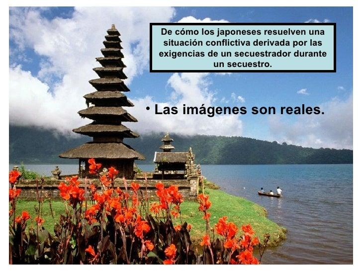 De cómo los japoneses resuelven una   situación conflictiva derivada por las  exigencias de un secuestrador durante       ...