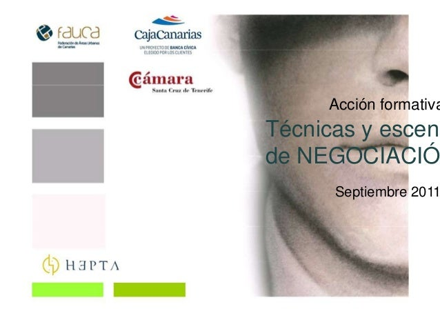 Acción formativa Técnicas y escena de NEGOCIACIÓ Septiembre 2011