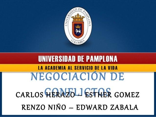 Negociacion de conflictos   expo (1)
