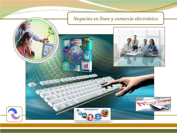 Negocios en línea y comercio electrónico