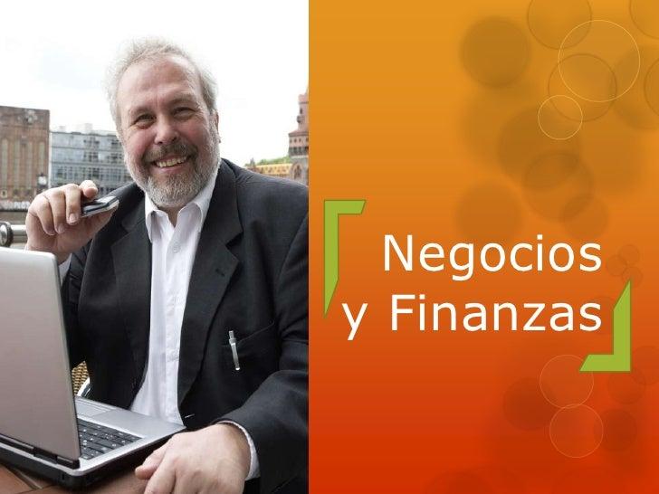 Negociosy Finanzas