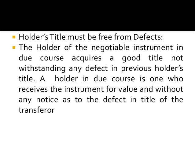 conclusion on negotiable instruments Negotiable instruments act 1881 is one of famous indian law which was passed in 1881 it applies on whole india it covers rules and regulation relating prom.