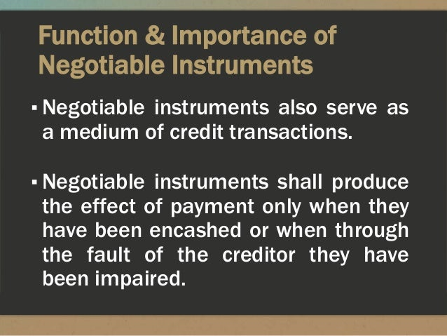 course notes negotiable instruments 3 negotiability: signatures n for an instrument to be negotiable, it must be signed by the maker/drawer n a signature may be any symbol made by the maker or.