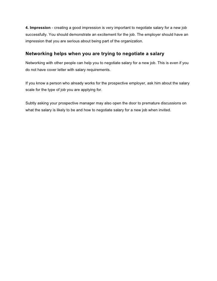 Reply Job Offer Letter Negotiation Sample. Sample Letter Of Job ...
