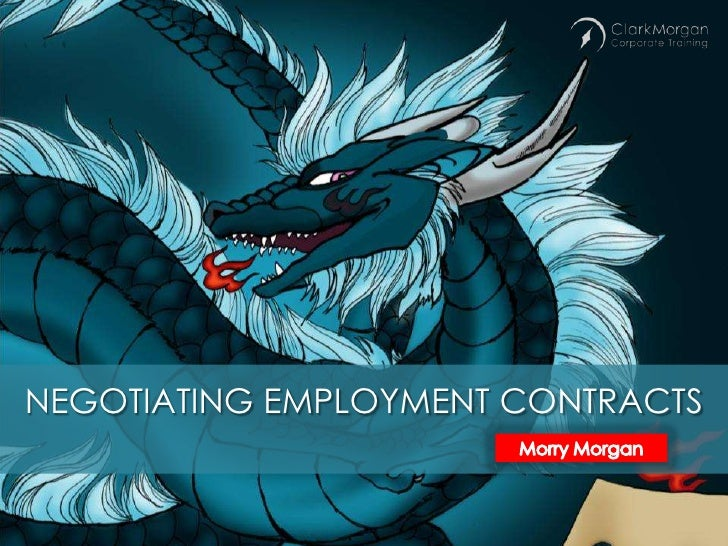 Negotiating Employment Contracts in the Year of the Dragon