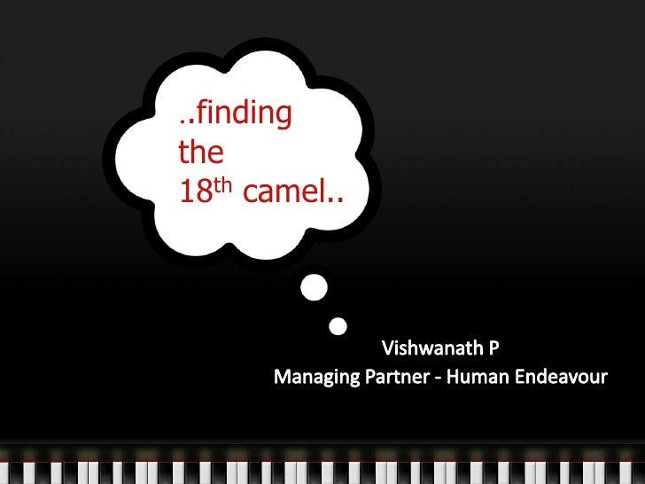 ..findingthe18th camel..