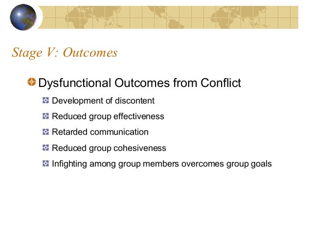 Conflict resolution case study analysis
