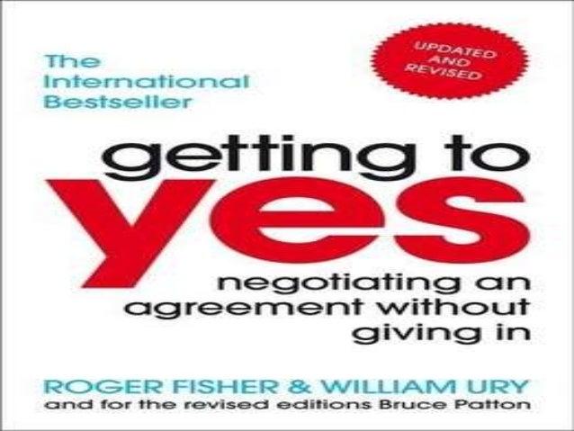Negotiation a 'YES' Agreement by Derek Hendrikz