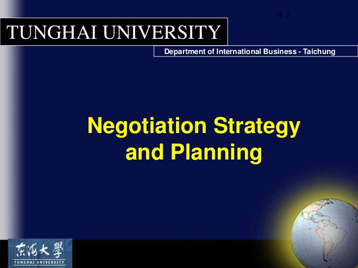 Negotiation Lewecki Ch 4 Strategy & Planning for negotiiations [sav lecture]