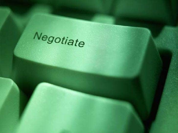 Negotiations  hurra h's creativity