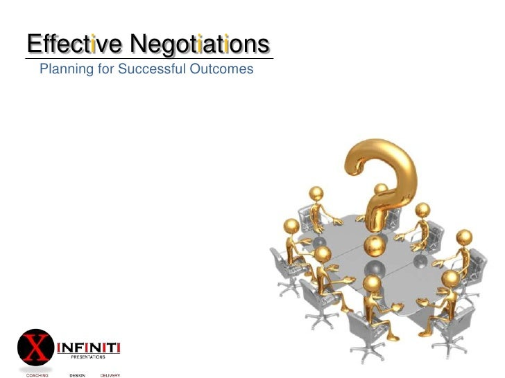 Effective Negotiations<br />Planning for Successful Outcomes<br />