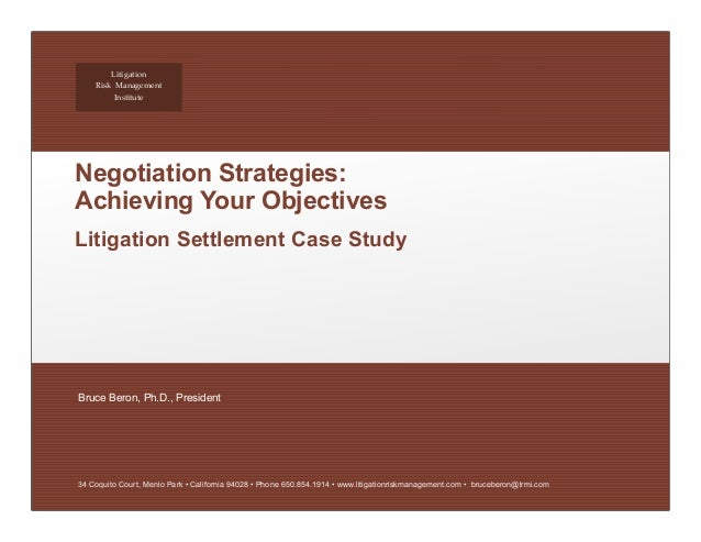 case study in business negotiation Business negotiation case study 2013 1 bsmh 5113business  negotiationscase studydeveloping a strategic negotiation.