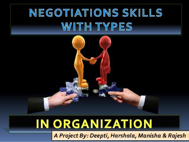 Negotitation skills
