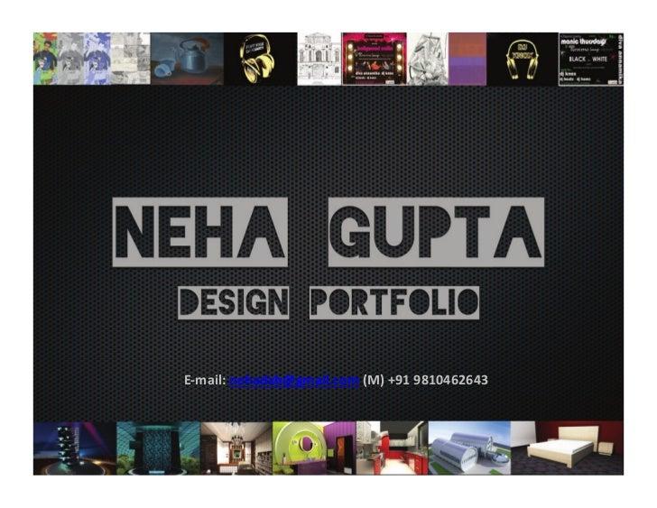 Neha Gupta Portfolio