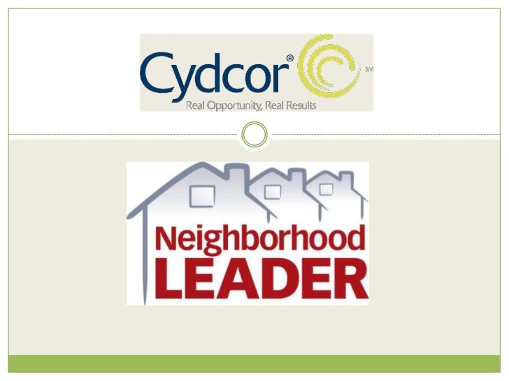 Neighborhood Leaders For Slideshare 2 5 10