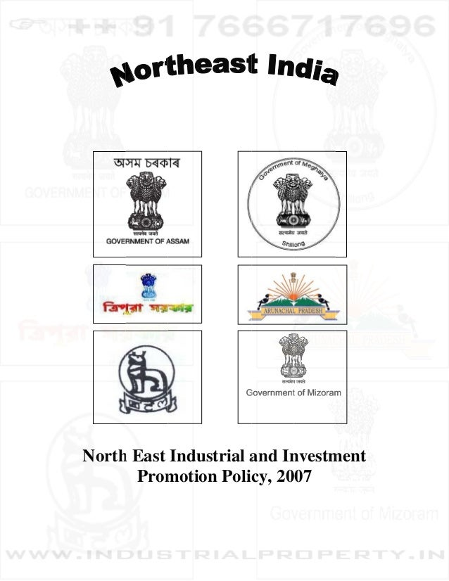 Northeast India Industrial and Investment Promotion Policy 2007
