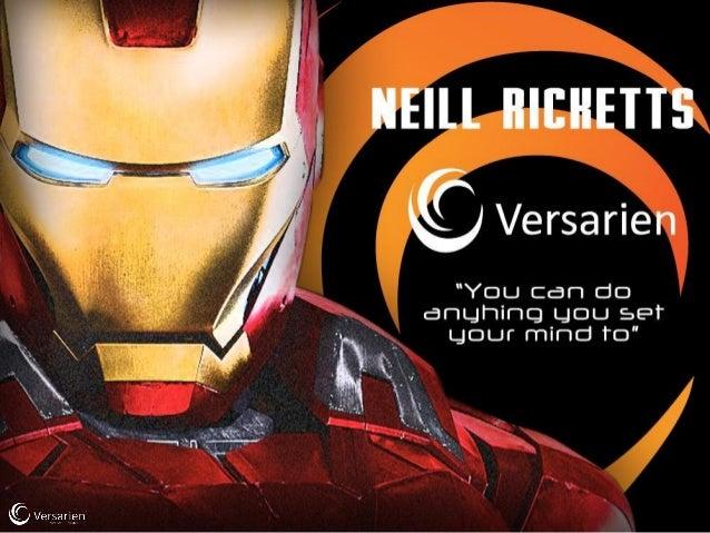 SME Growth Hack - Neill Ricketts, Versarien