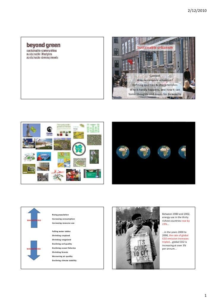 2/12/2010                                                      Sustainable urbanism                                       ...