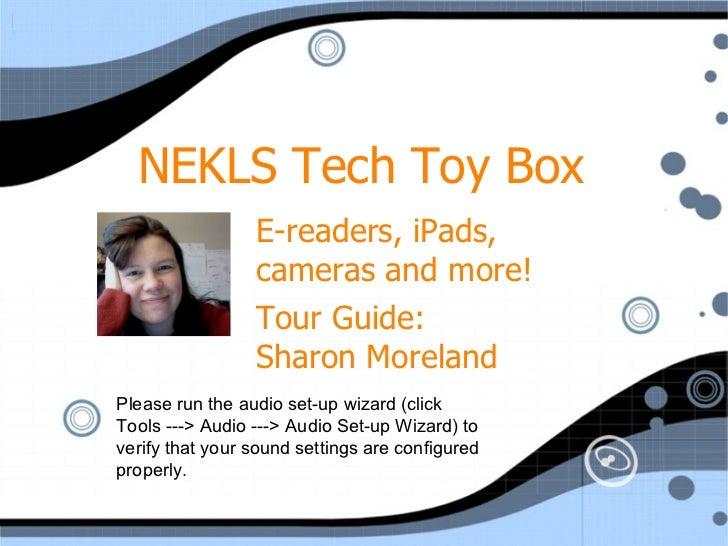 Nekls tech toy box