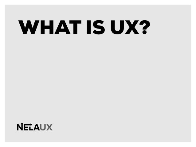 NELAUX Presents: UX Strategies for Startups