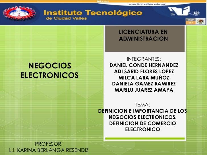 N electronicos