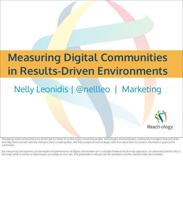 Nelly leonidis   e metrics chicago 2013- presentation for web