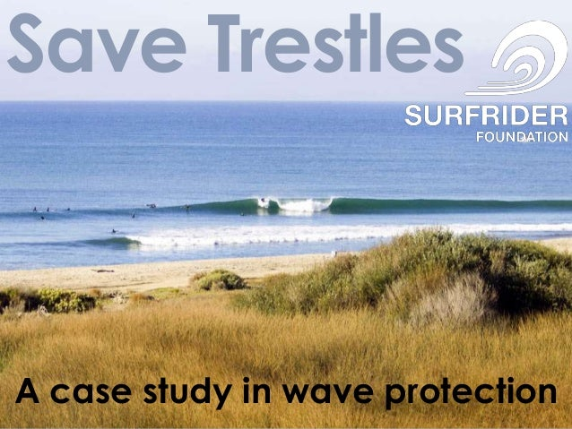 Save TrestlesA case study in wave protection