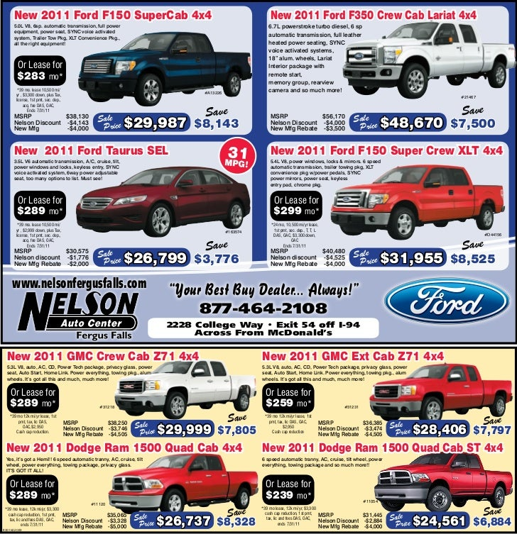 Ford Trucks Sale Special MN | Ford Dealer In Fergus Falls