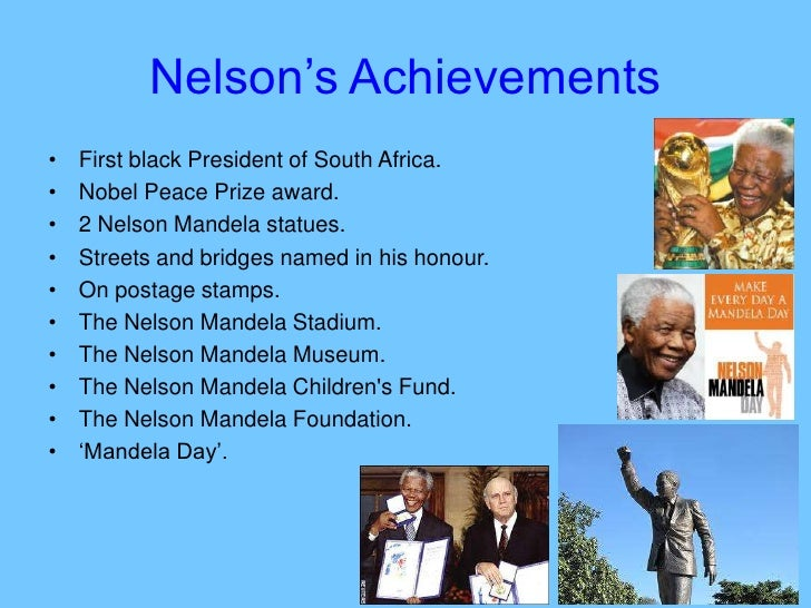 a biography of nelson mandela the president of south africa A short biography of nelson rolihlahla mandela from his birth in 1918 to 1994 when he became president.