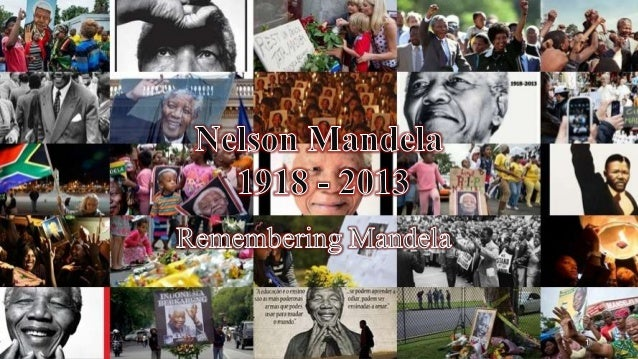 Nelson Mandela-A Great Personality