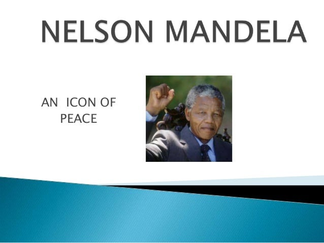 AN ICON OF PEACE