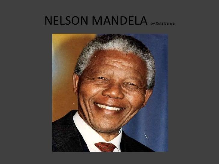 Nelson Mandela by xola benya