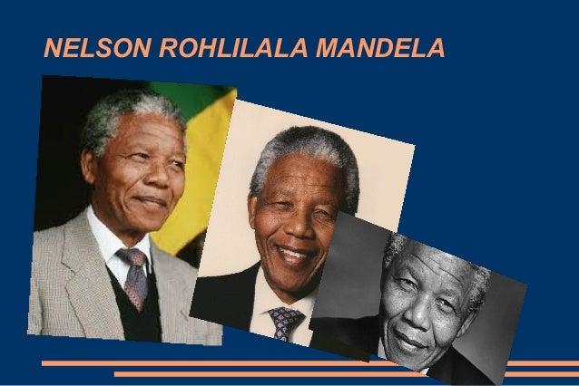 Nelson mandela Roberto 1 - presentation