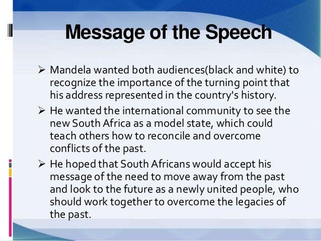 speeches nelson mandela community service