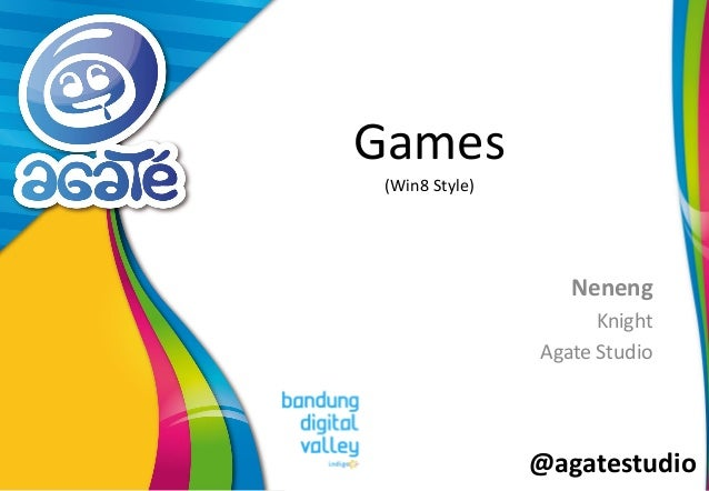 @agatestudio Games (Win8 Style) Neneng Knight Agate Studio