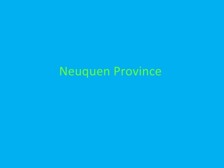 Neuquen Province