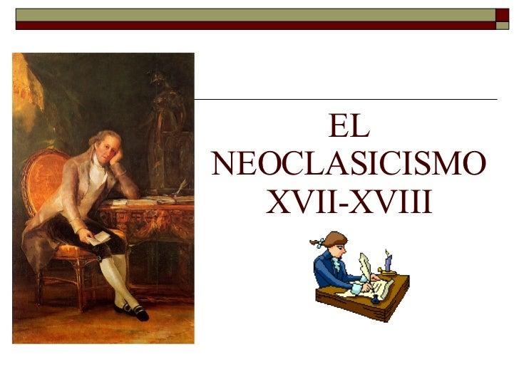 literatura del neoclasicismo