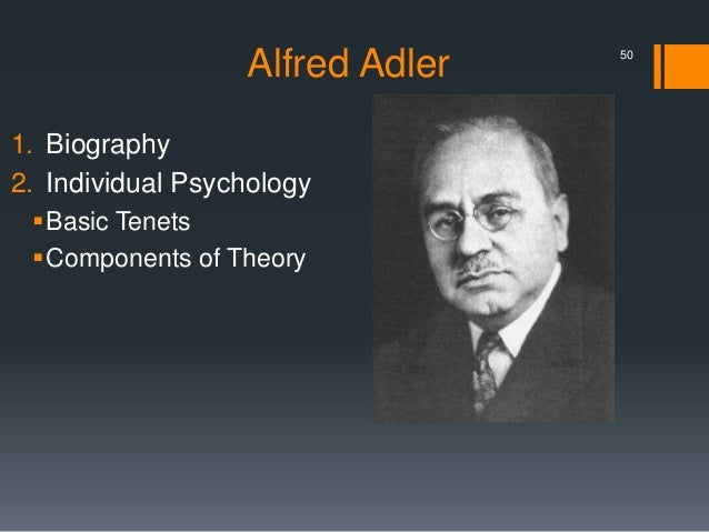 alfred adler essay1 Alfred adler and sigmund freud are two great figures in psychology that have left a profound impression on theorists today both of them are from austria and lived through the same time period, adler was born in 1870 and died in 1937, and freud was born in 1856, died in 1939 each one has.
